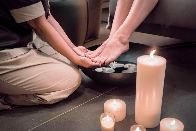 New foot massages